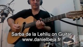 Sarba de la Lehliu - Romanian song played on Guitar Gypsy Jazz Style