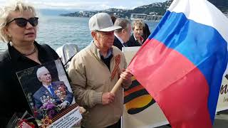 9 Мая, в День Победы, Русский Клуб Веллингтона организовал и провел на набережной, в столице Новой Зеландии в Веллингтоне, акцию «Бессмертный Полк».
