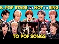 K pop Stars React To Try Not To Sing Along Challenge NCT 127 엔시티