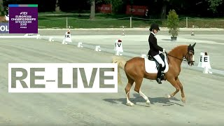 LIVE 🔴 | Dressage (Individual day 2) | FEI European Championships for Ponies 2019