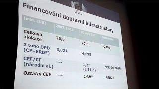 preview picture of video 'Luhačovice hostily 4. ročník mezinárodní konference s dopravní tematikou'