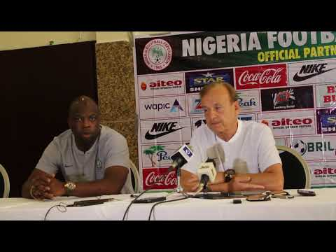 Rohr PreMatch Interview NIG vs LBY (Part2)
