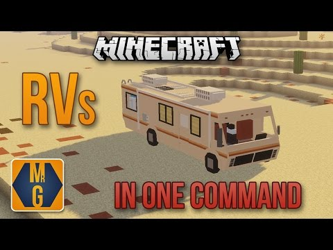 Rv Campers In One Command Minecraft Project