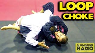 How to do a really SIMPLE Loop Choke | BJJ SAMBO
