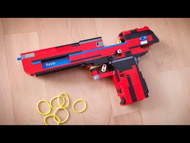 LEGO Blowback Desert Eagle Tutorial / Instruction
