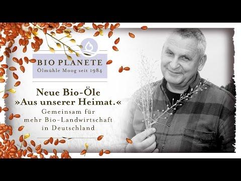 """Bio-Leindotteröl """"Aus unserer Heimat"""": Bio-Bauer Hans-Jochim Mautschke"""