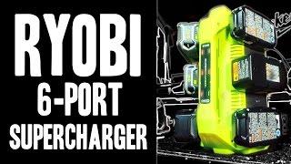 Ryobi P135 6-Port SuperCharger 18v ONE+