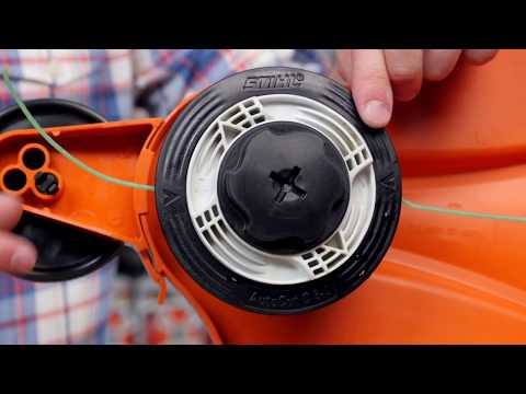 Триммер STIHL FSE 81 Video #1