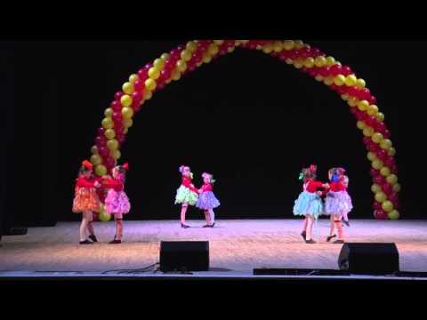 """МООЕ Школа танцев «Виктория». Интересная танцевальная постановка для детей. """"Бум-бум-ла-ла"""" 5-6 лет"""