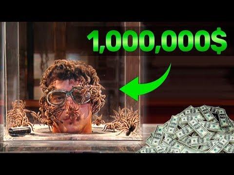 اربح مليون دولار .. إذا تحملت هذا التحدي لمدة 34 ثانية !!