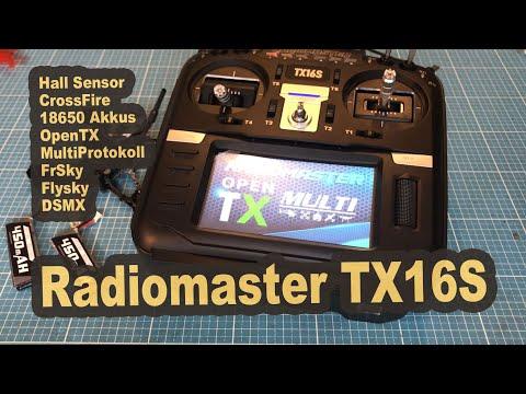 Radiomaster TX16S Hall Sensor Gimbals