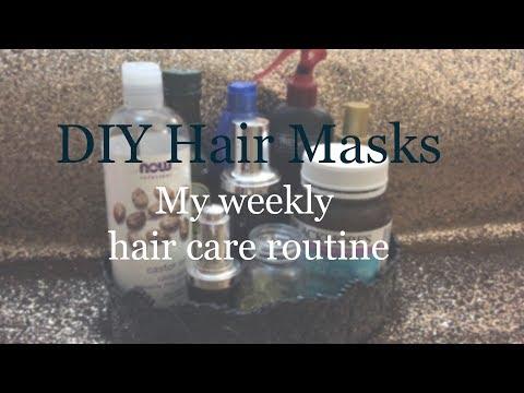 Hair Mask na may olive oil pula ng itlog at honey facial