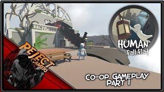 Human Fall Flat: Co-op Gameplay (Part 1)