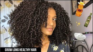 DIY NATURAL HAIR MASK | For Moisture, Growth & Definition