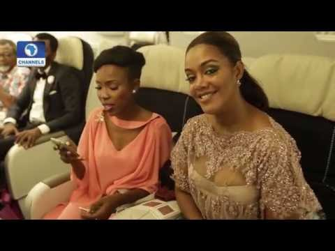 EN: Inside The World's First In-flight Movie Premiere - Afolayan's The CEO