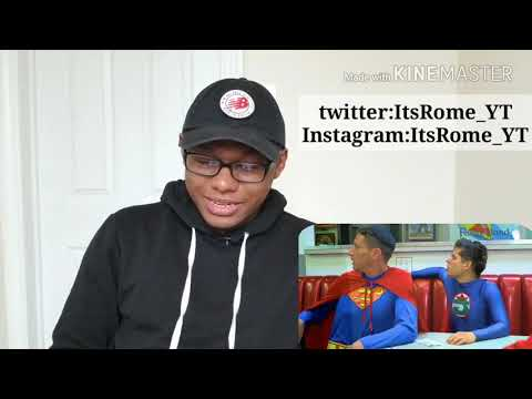 Racist Superman |By Rudy Mancuso, Alesso & King Bach REACTION!