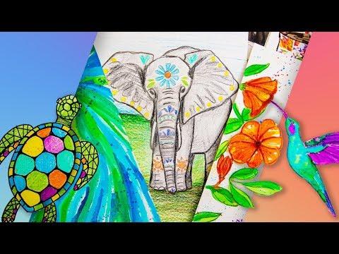 Online Art Class for Beginners & Kids