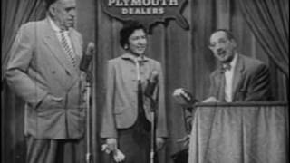 You Bet Your Life Outtakes 1953 55, Part 1