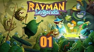 Rayman Legends - Прохождение pt1