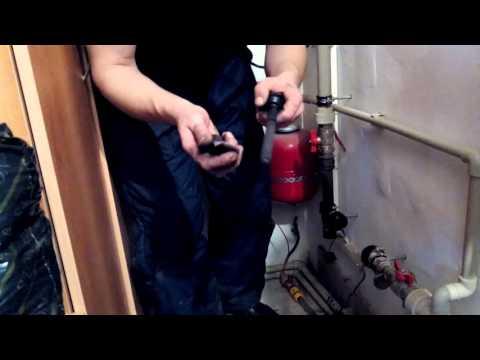 Как чистить электродный котел Галан