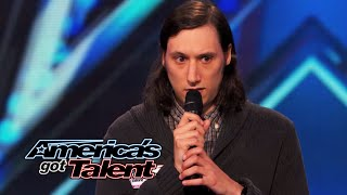 Darik Santos: Standup Comic Reminds Howie Mandel of Himself - America's Got Talent 2014