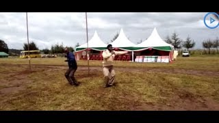Assistant chief Thuo, uses music to entice the youth in fighting