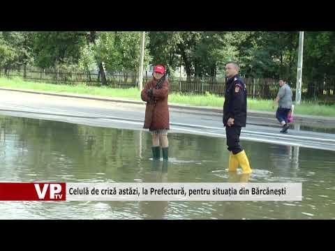 Celulă de criză astăzi, la Prefectură, pentru situația din Bărcănești