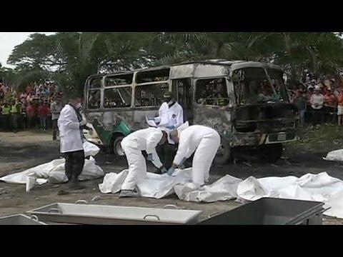 Κολομβία: Τραγωδία στην άσφαλτο με δεκάδες νεκρά παιδιά