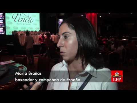 Española Brañas lista para su combate en Panamá
