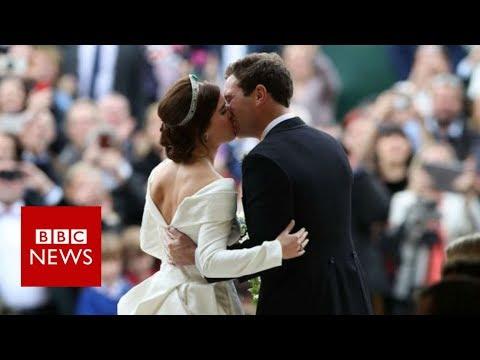 Royal wedding: Princess Eugenie marries Jack Brooksbank – BBC News