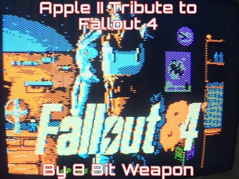 Fallout 84': An Apple II Tribute to Fallout 4 by 8 Bit Weapon