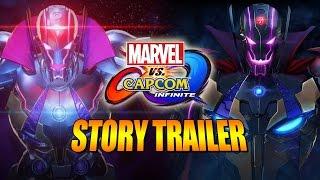 Marvel vs Capcom Infinite -  Ultron/Sigma Story Trailer 1 (Multiple Character Reveals)