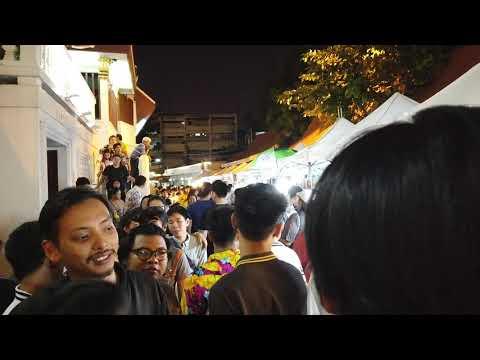 Loy Krathong, November 2019 at Wat Saket, Bangkok