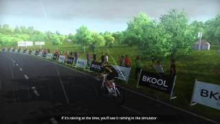 How to Create and Ride Real Courses Using The Bkool