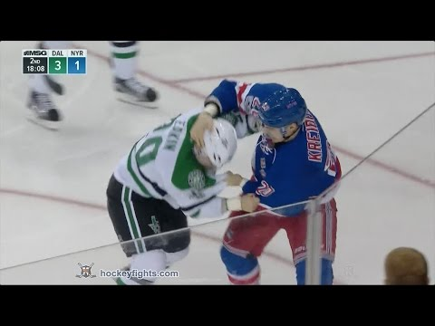 Chris Kreider vs. Cody Eakin