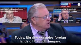 Ukraine occupies territories of Russia, Poland, Romania, Hungary and Сzech Republic - Zhirinovsky