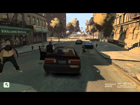 GTA IV TBOGT PC Funny Moments And Glitches HD