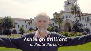 Ashleigh Brilliant in Santa Barbara