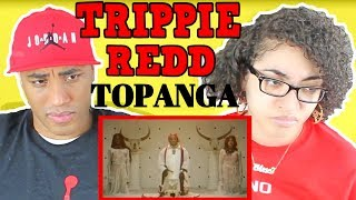 MY DAD REACTS TO Trippie Redd   Topanga REACTION