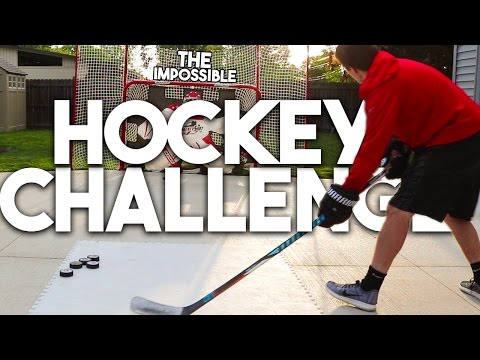 THE IMPOSSIBLE HOCKEY CHALLENGE