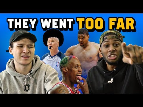 5 Times NBA Players CROSSED THE LINE