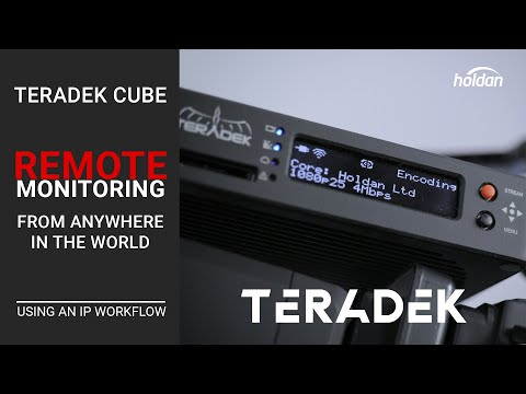Teradek Cube & Core Cloud | Monitor Your Production From Anywhere in the World | Off-Set Monitoring