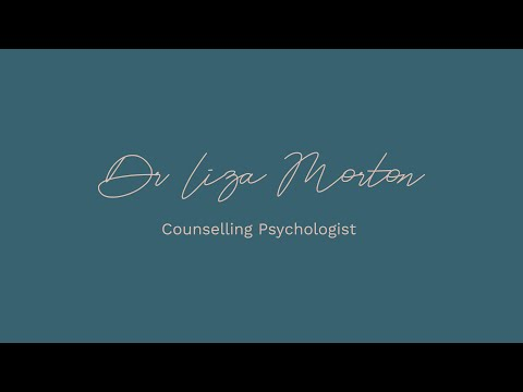 Managing panic - Dr Liza Morton, Counselling Psychologist