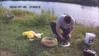 Ловля рыбы на кольцо с берега схема ловли