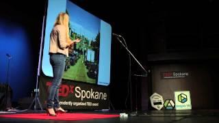 Living In The Question  <b>Natalie Gelman</b>  TEDxSpokane