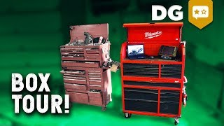 Toolbox Tour! What's In My NEW* Milwaukee 48-22-8500