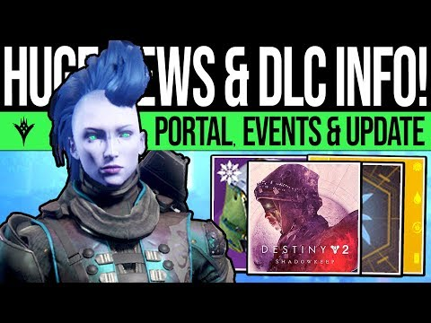 Destiny 2 | HUGE DLC UPDATES & REVEALS! Secret Portal, Sacrifice Event, DLC Power, Filaments & More
