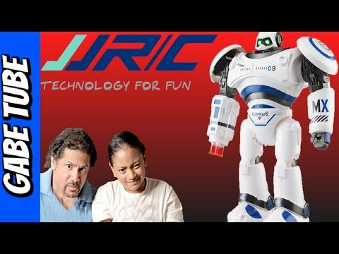 Top Toys JJRC DEFENDER ROBOT The Missile Shooting Remote Controlled Robot REVIEW Gabe Tube TV