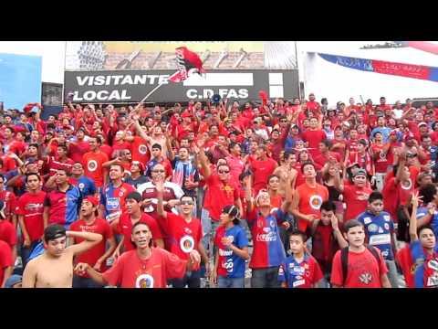 """Esta hinchada se merece un monumento FAS Vrs. Once Municipal"" Barra: Turba Roja • Club: Deportivo FAS"