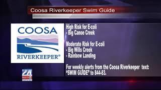 Coosa Riverkeeper Swim Guide